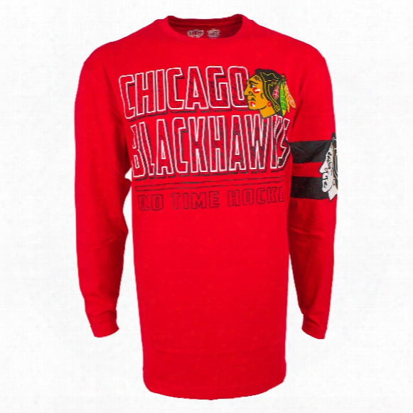 Chicago Blackhawks Youth Bandit Long Sleeve T-shirt