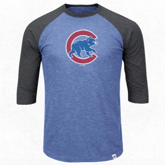 Chicago Cubs Grueling Oredal 3 Quarter Sleeve T-shirt