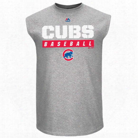 Chicago Cubs Proven Pastime Muscle T-shirt