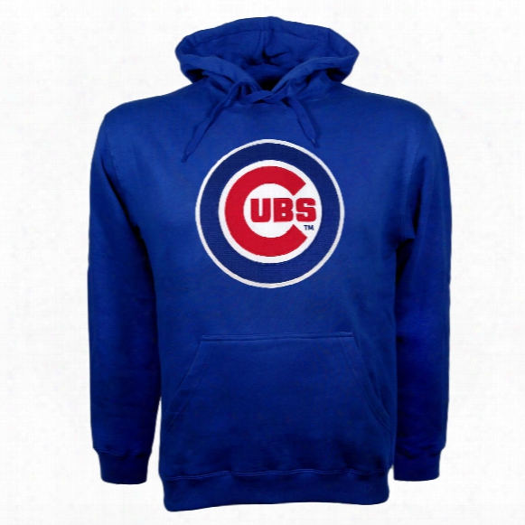 Chicago Cubs Twill Logo Hoody (royal)