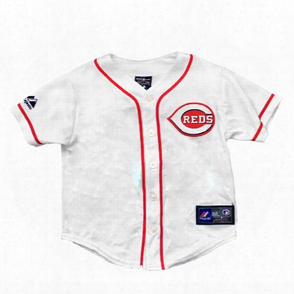 Cincinnati Reds Majestic Child Home Replica Baseball Jersey