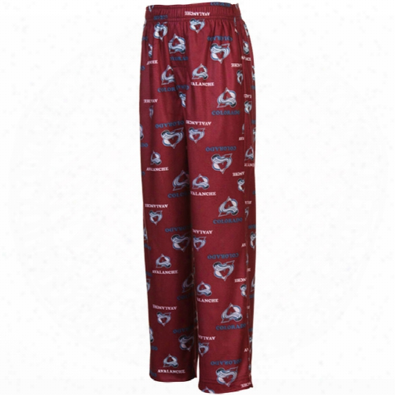 Colorado Avalanche Youth Flannel Sleeper Pants