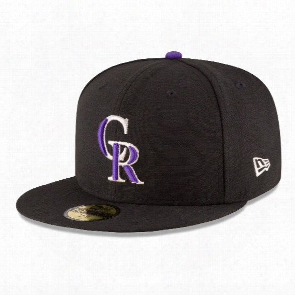 Colorado Rockies 2017 59fifty Authentic Fitted Performance Game Mlb Baseball Cap