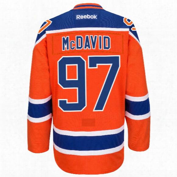 Connor Mcdavid Edmonton Oilers Reebok Edge Authentic Alternate Nhl Hockey Jersey
