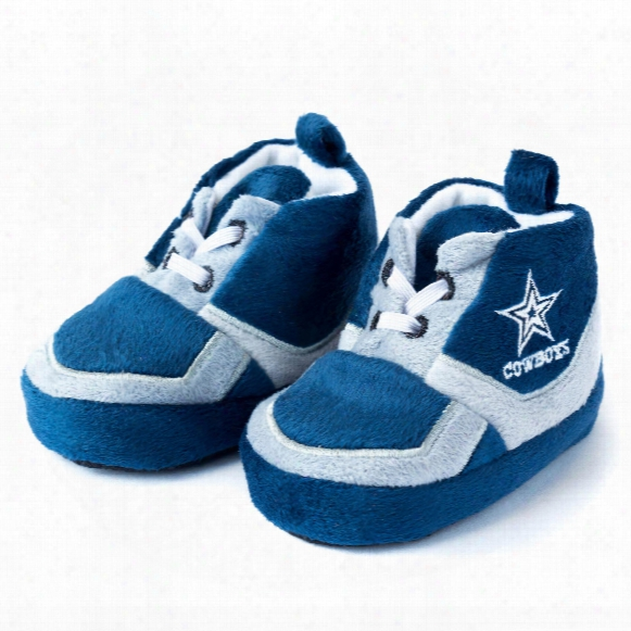 Dallas Cowboys Sneaker Baby Booties