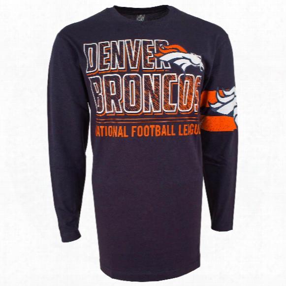 Denver Broncos Nfl Bandit Long Sleeve T-shirt