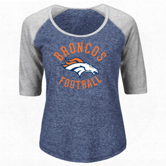 Denver Broncos Women's Act Like A Champion Nfl T-shirt