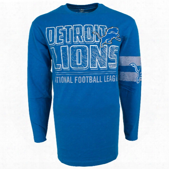 Detroit Lions Nfl Bandit Long Sleeve T-shirt