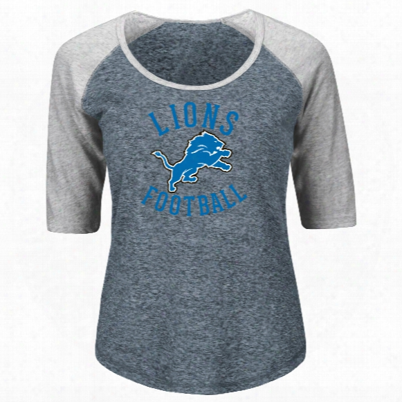 Detroit Lions Women's Act Like A Champion Nfl T-shirt