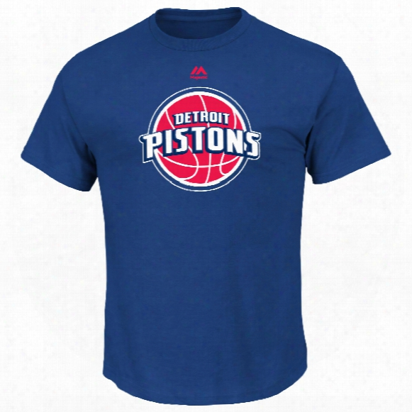 Detroit Pistons Primary Logo Nba T-shirt