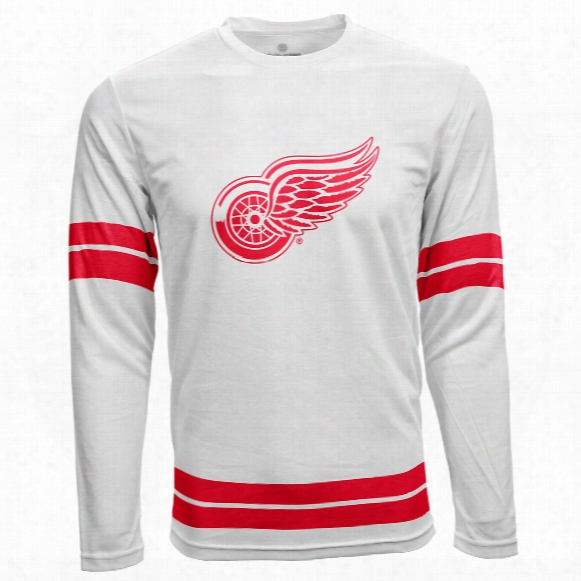 Detroit Red Wings Authentic Scrimmage Fx Long Sleeve T-shirt