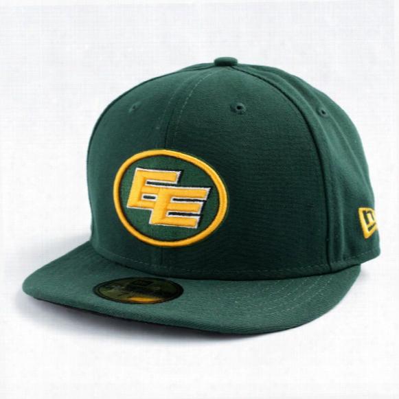 Edmonton Eskimos Cfl 59fifty Basic Logo Fitted Cap