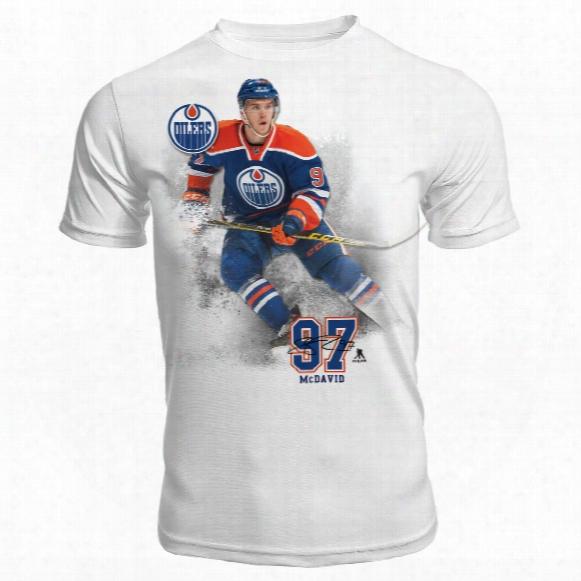Edmonton Oilers Connor Mcdavid Fx Highlight Reel Kewl-dry T-shirt