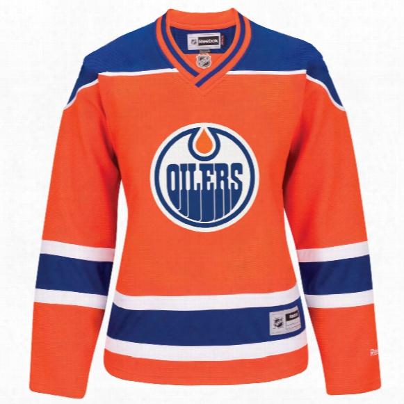 Edmonton Oilers Women's Premier Replica Alternate Jersey