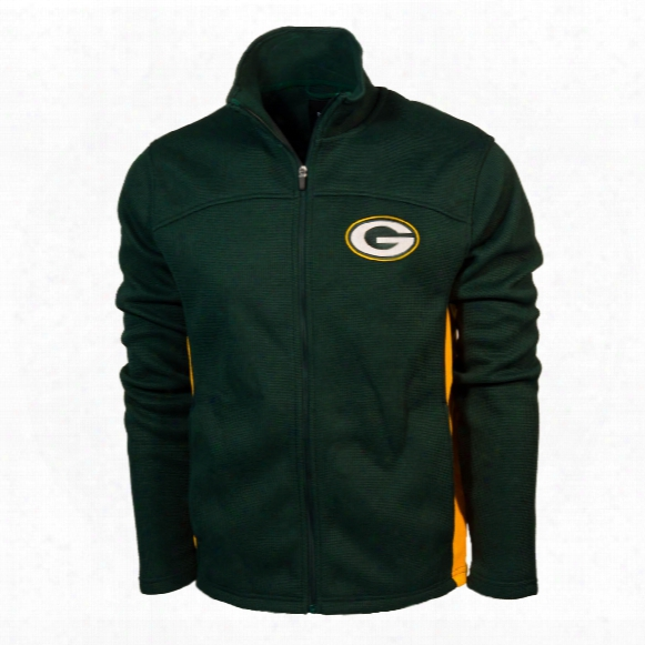 Green Bay Packers Nfl Transitional Full Zip Jacket