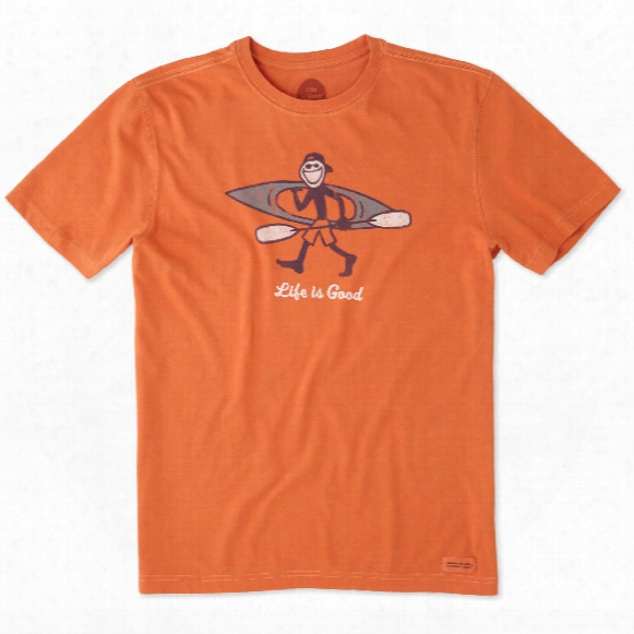 Life Is Good Men's Kayak Crusher Tee