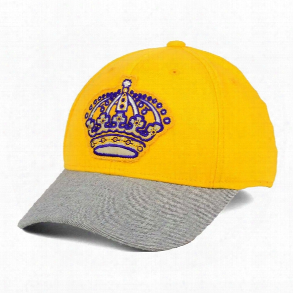 Los Angeles Kings Ccm Hockey Structured Stretch Fit Cap