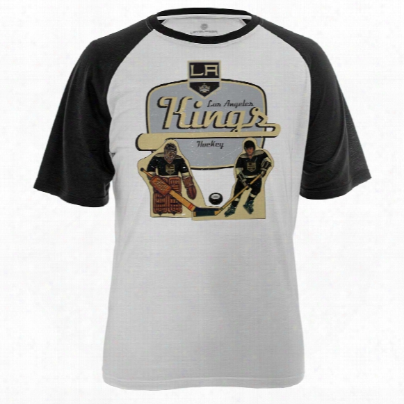Los Angeles Kings Table Top Fx Raglan T-shirt