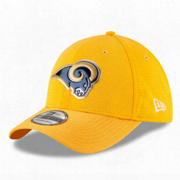 Los Angeles Rams 2016 Nfl On Field Color Rush 39thirty Cap