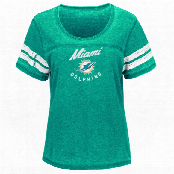 Miami Dolphins Women's Superstar Effort Nfl T-shirt