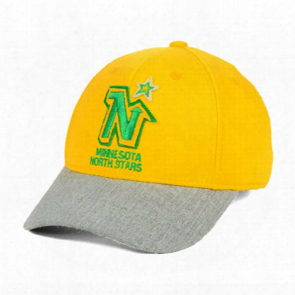 Minnesota North Stars Ccm Hockey Structured Stretch Fit Cap