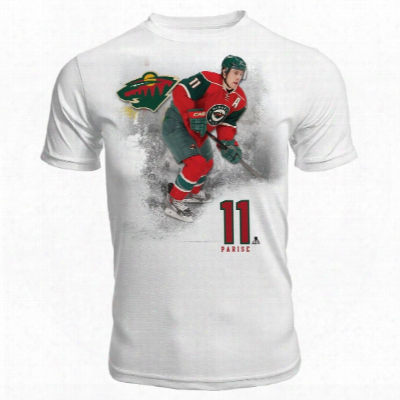 Minnesota Wild Zach Parise Fx Highlight Reel Kewl-dry T-shirt 2
