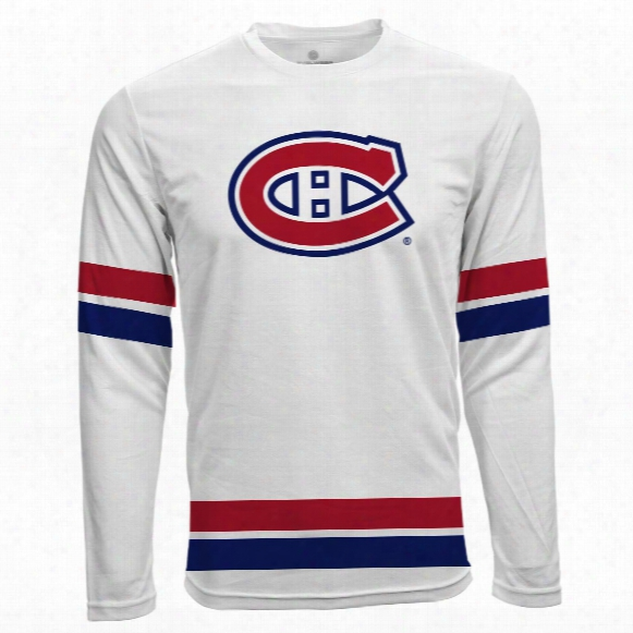 Montreal Canadiens Authentic Scrimmage Fx Long Sleeve T-shirt