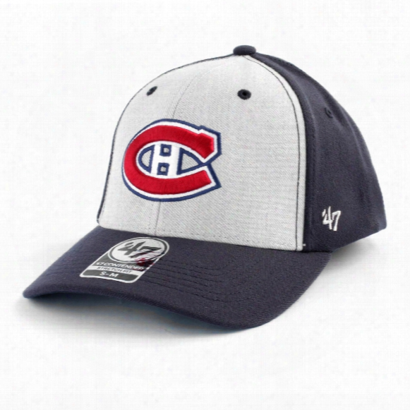 Montreal Canadiens Backstop Stretch Fit Cap