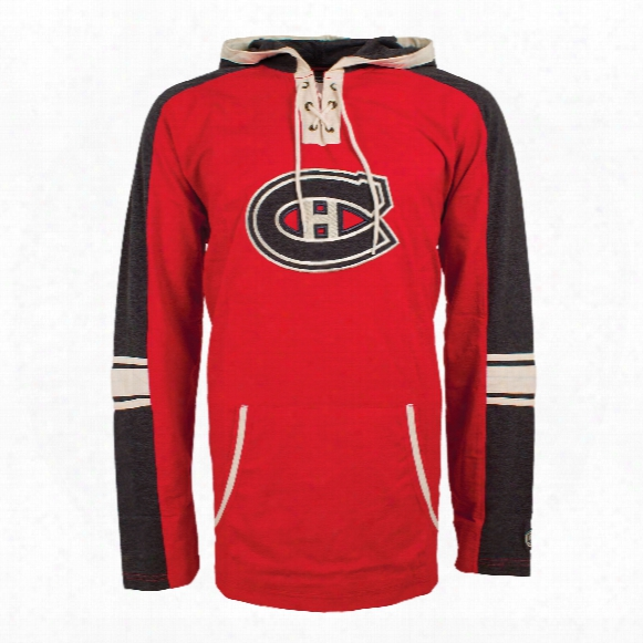 Montreal Canadiens Cable Lace Hoodie
