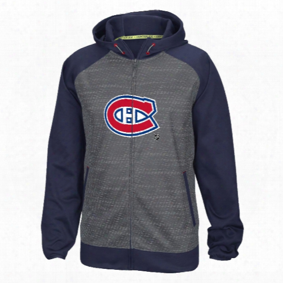 Montreal Canadiens Center Ice Tnt Speedwick Full Zip Hoodie