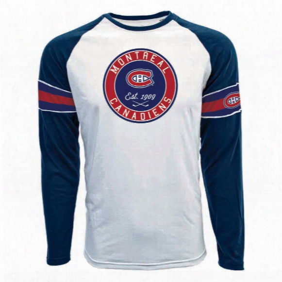 Montreal Canadiens Face-off Fx Raglan Long Sleeve T-shirt