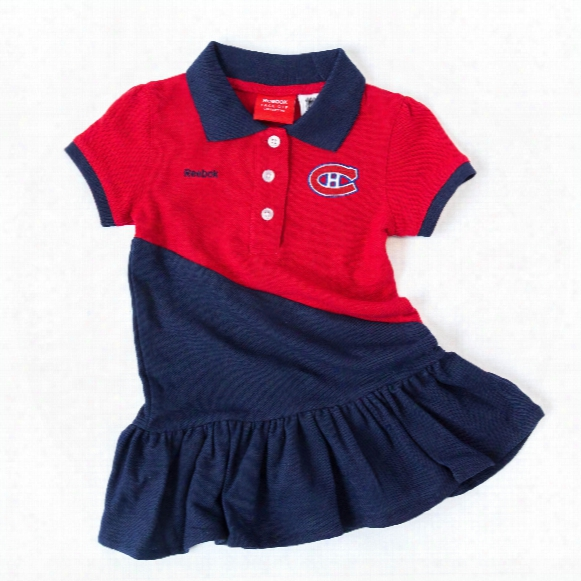 Montreal Canadiens Toddler Polo Dress