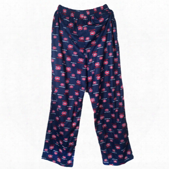 Montreal Canadiens Youth Flannel Sleeper Pants