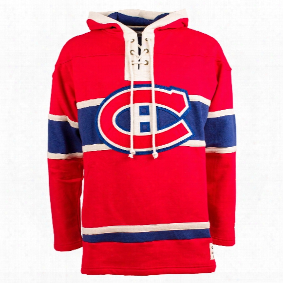 Montreal Canadiens Youth Lacer Hoodie