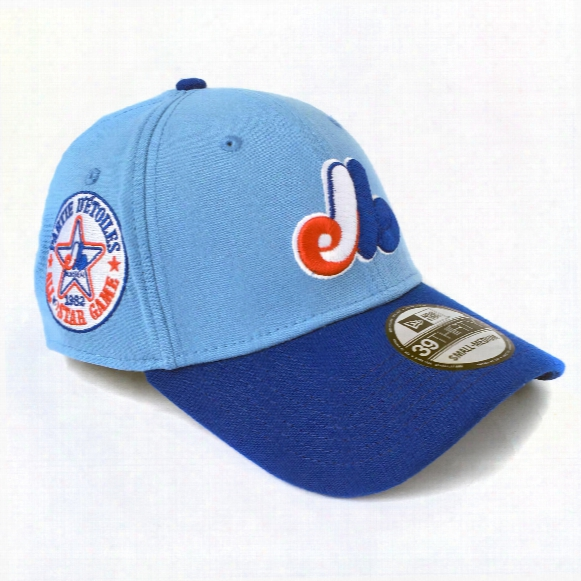 Montreal Expos 1982 All Star Game 39thirty Baby Blue Cap (ij Exclusive)