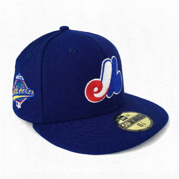 """Montreal Expos 1994 """"world Series Dream"""" 59fifty Authentic Fitted Baseball Cap"""