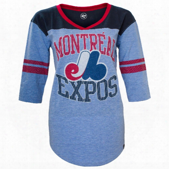 Montreal Expos Women's Replay Rush T-shirt