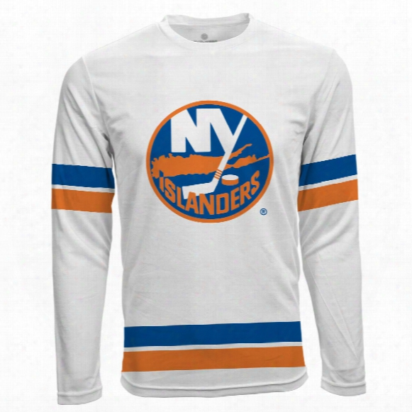 New York Islanders Authentic Scrimmage Fx Long Sleeve T-shirt