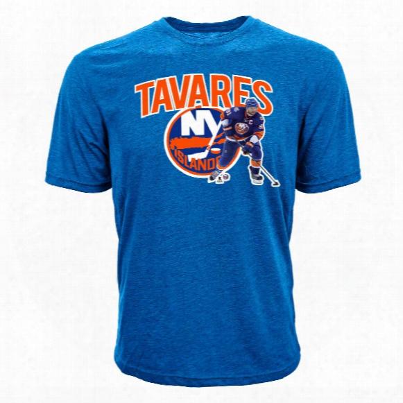 New York Islanders John Tavares Nhl Action Pop Applique T-shirt