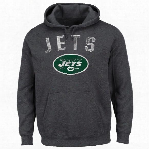 New York Jets Nfl 2016 Kick Return Hoodie (charcoal)