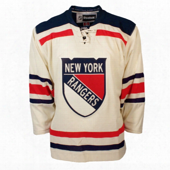 New York Rangers 2012 Nhl Winter Classic Premier Replica Jersey (with Patch)