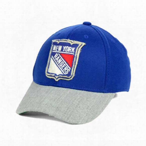 New York Rangers Ccm Hockey Structured Stretch Fit Cap