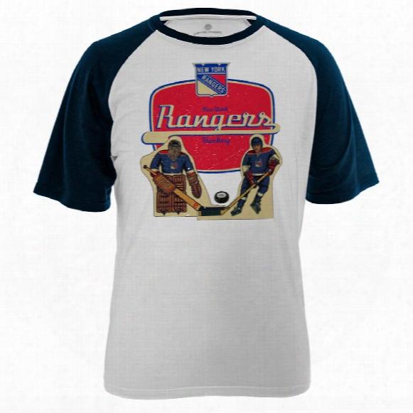 New York Rangers Table Top Fx Raglan T-shirt