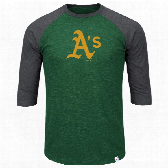 Oakland Athletics Grueling Ordeal 3 Quarter Sleeve T-shirt