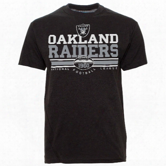 Oakland Raiders Nfl Gridlock T-shirt