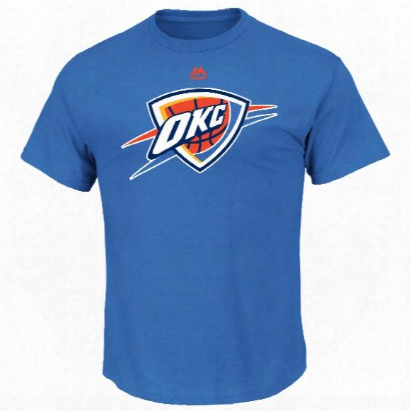 Oklahoma City Thunder Primary Logo Nba T-shirt