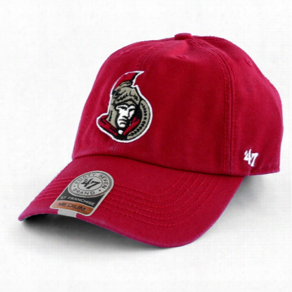 Ottawa Senators '47 Franchise Fitted Cap (red)