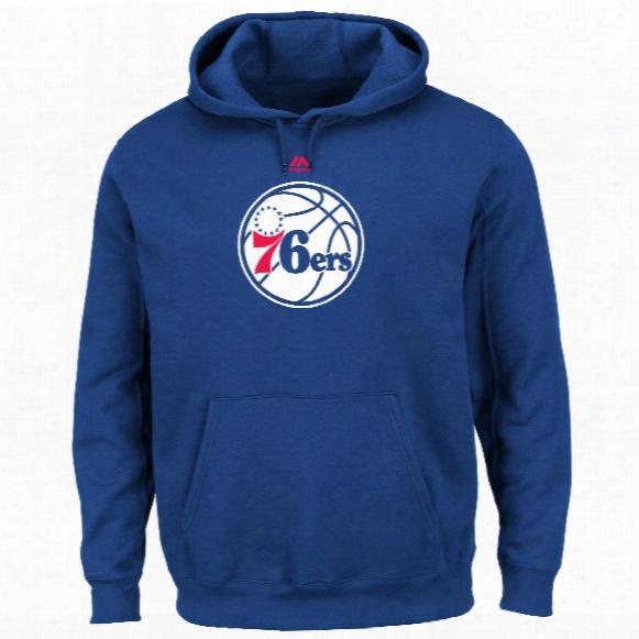Philadelphia 76ers Primary Logo Nba Hoodie