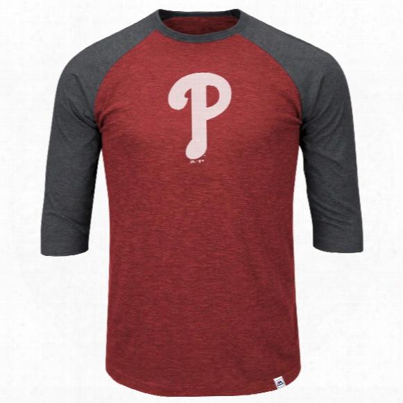Philadelphia Phillies Grueling Ordeal 3 Quarter Sleeve T-shirt