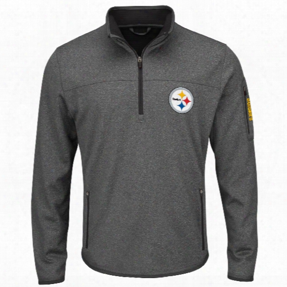 Pittsburgh Steelers Fast Pace 1/4 Zip Pullover